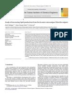 Study of increasing lipid production from fresh water microalgae Chlorella vulgaris.pdf