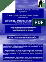 923489918.Clase Teorica Agrometeorología - OMM Estac. Agromet Etc