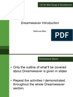 Dreamweaver Introduction.ppt