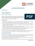Prova ProfHistoria 2018