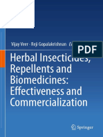 Herbal Insecticides, Repellents and Biomedicines, Effectiveness and Commercialization
