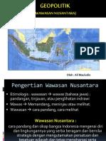 Geopolitik (Wawasan Nusantara) Ali Mauludin