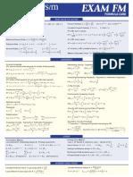 FM Formula Card