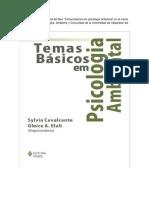 Libro Temas de Psicologia Ambiental