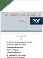 Cap 5 Ingenieria Del Proyecto