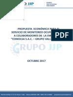 COTIZACIÓN N° 00160 MONITOREO- COMOLSA S.A.C.