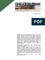 Inovacoes Tecnologicas e Organizacionais