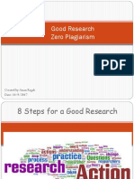 8 steps for a good research