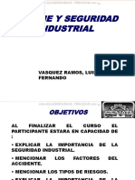 Curso Seguridad Higiene Industrial Factores Accidentes Tipos Riesgos Importancia