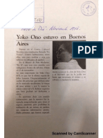 Yoko Ono Documentos