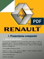 Prezentare Proiect Management (Renault)