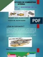 diapositiva de Sae y API
