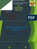 Modo de Producciãƒâœn Primitiva11