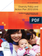 Whitehorse Diversity Policy and Action Plan 2012-2016