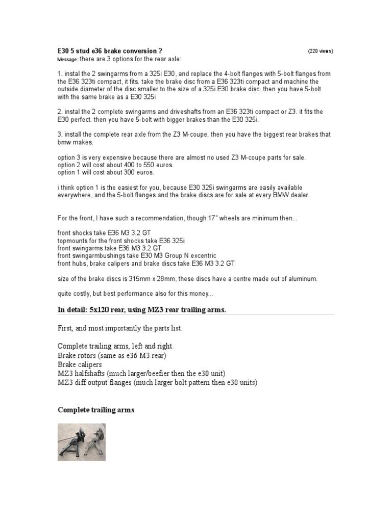 Bmw M3 Engine Maintenance Diagram E36 325 328 S52 Motor Bimmer