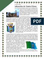 Provincialización de Santa Elena
