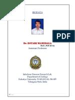 Dr Estari Mamidala - Achievements