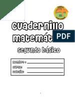 Cuadernillo Matematicas Segundo Basico