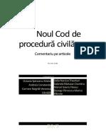 Ncpc Comentat Boroi Vol1