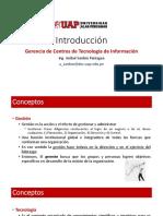 Introducción Gerencia de Las TICs