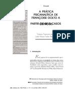 DocGo.org-A Prática Psicanalítica Com Crianças - Françoise Dolto