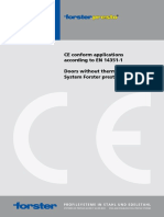 CE-conform Applications Presto Doors en 8-10