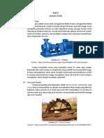 Centrifugal Pump - Bab II - Dasar Teori