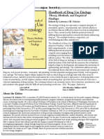 Handbook of Drug Use Etiology