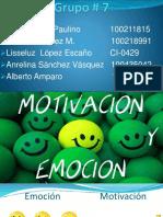 Psicologia motivacion y emocion