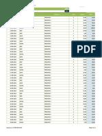 RDP0037 Registro de Vendas e Recebimentos