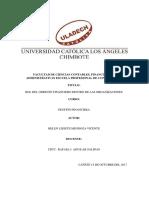 Rol Del Gerente Financiero Dentro de Las Organizaciones