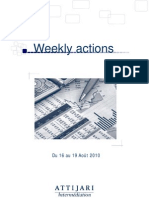 Weekly Actions 16082010