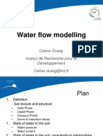Water Flow Modelling