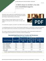 Pensiones_ fondo A lideró ganancias en octubre y el E las pérdidas - Diario Financiero