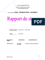 Rapport de Stage Dessin de Batiment 111111
