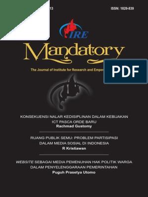 Jurnal Mandatory Ire