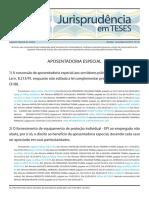 Jurisprudência em teses 34 - Aposentadoria Especial.pdf