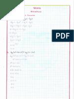 ejercicios de ecuaciones y logaritmicas