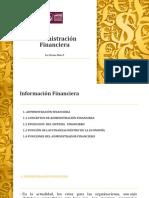 Objetivos y Funciones Del Administrador Finaciero