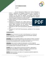 RESOLUCIÓN N°4 2017-2/JF-COMUNICACIONES