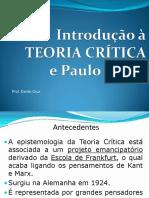 Introdução à Teoria Crítica