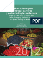 Barreras Culturales del sobrepeso y la obesidad