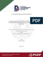 Bayona Goycochea El Capital Psicologico Positivo y Su Relacion Con Comportamientos Discrecionales en Trabajadores Peruanos