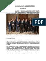 Catalunya, Hagan Juego Señores (4 oct 2017)