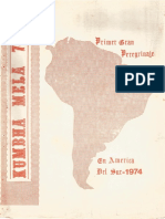 Kumbha Mela 74, Primer Gran Peregrinaje en America
