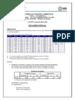 Examen Final 2017 Estadistica Solucion Grupo Arañex