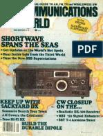 Communications World 1980