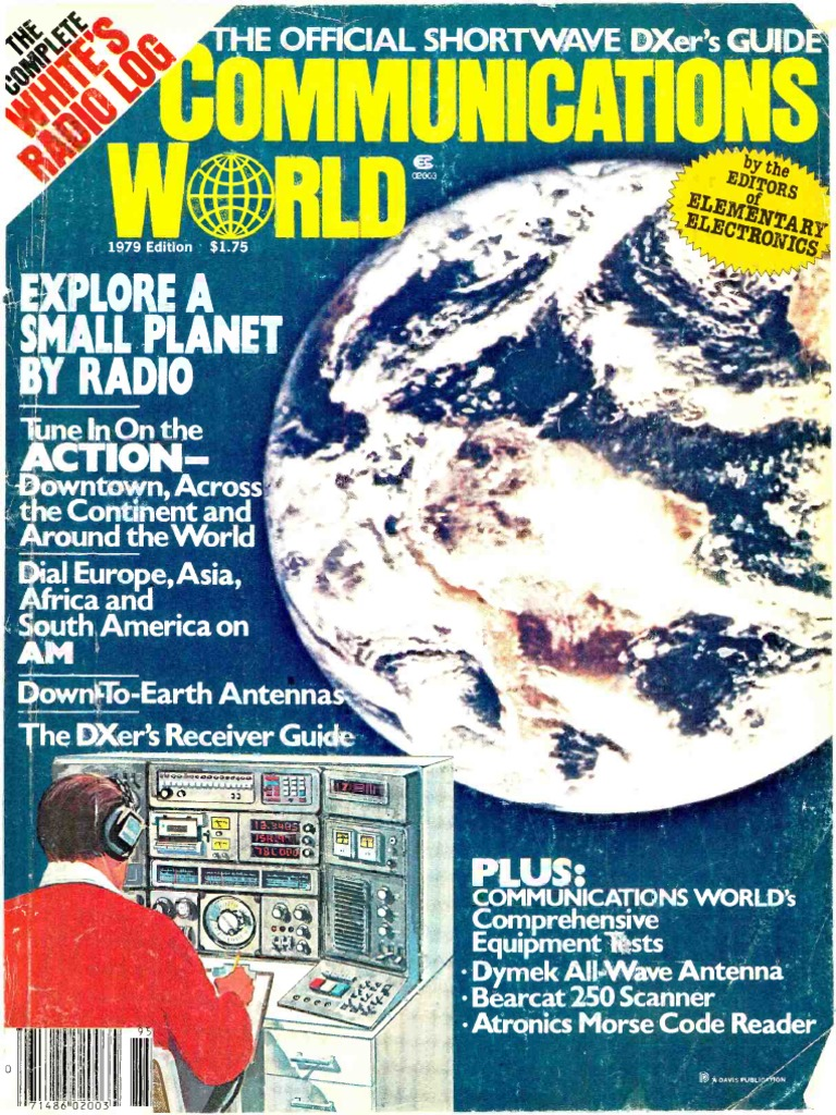 Communications World 1979 Very High Frequency Am Broadcasting Sided Pcb Board Prototype Panel Universal Circuit Glass Alex Nld