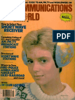 Communications World 1981