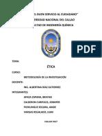 ETICA MONOGRAFIA